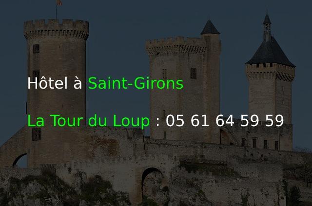 Hôtel à Saint-Girons