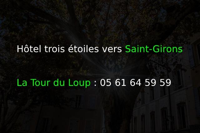 La Tour du Loup_Hôtel trois étoiles vers Saint-Girons